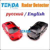 Model car radar Car Anti Radar Detector Russian / English Speaking vehicle speed control detector high quality,radar detector