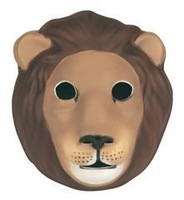 Lot 200 Lion Head 3D Mask for Kids Baby Male or Female  Children or Adult  Animals  Head / Madagascar / Party / Halloween