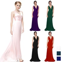 9008  Elegant Sexy V Neck Evening Dress For World Cup