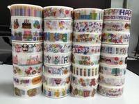 1627! patterns wholesale tapes japanese masking tape, self-adhesive tape, scrapbooking tape diy, free shipping promotion!