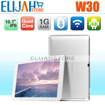 In Stock Original Ramos W30 Quad Core tablet pc 10.1 inches IPS Exynos 4412 1G 16G Andriod 4.0 WIFI Bluetooth