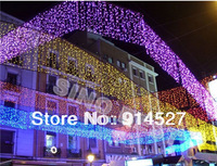 Waterproof Outdoor 6M 224 LED Icicle Lights 220V 110V Christmas Xmas Holiday Wedding New Year Party Decorations Garden Lighting