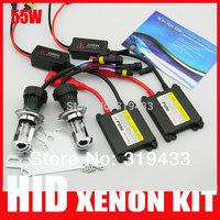 55w slim ballast h4 hi lo bi xenon bulb h4 h13 9004 9007 4300K 5000k 6000k 8000k 12000k 55W Hid Bi xenon Conversion Kits