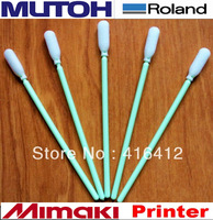 1000 pcs Foam Tipped Inkjet Cleaning Swabs Roland Mimaki JV3 Solvent Printer Cleaning Swabs Sticks manufacturers