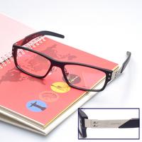 (A-3073) 1 piece retail and lot wholesale TR Black / dark grey / Grey / brown nerd glasses