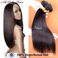 "Grade 6a unprocessed virgin hair 8""-30"" brazilian straight hair brazilian hair 3pcs/lot best human hair extensions no shedding"