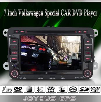 VW Caddy/Jetta/Golf/Passat/Skoda/Seat Leon 2 Din Car Radio / FM/AM / GPS Navi / Digital TV ISDB-T / IPOD / BT / AUX