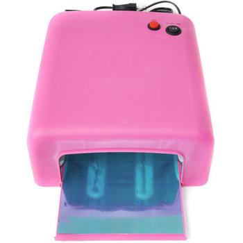 EMS SHIPPING 110V/220V UV Lamp Dryer 36w Gel Curing Nail + 4 x 9w Tube Light Bulbs Rose SK818