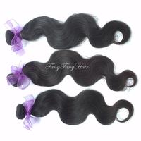 Human Hair Brazillian Virgin Hair Body Wave 3pcs lot Unprocessed Hair rosa brazilian hair weave bundles Free Shipping