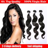 brazilian virgin hair body wave 3pcs lot 100% human hair extensions unprocessed  brazilian hair