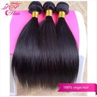 Ali POP Brazilian virgin hair straight 6A Brazilian hair weave High quality Brazilain hair 8''-30'' human hair extension