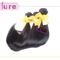 Queen hair products Virgin Brazilian straight hair 3pcs mixed lots Cuticle hair