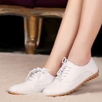 2014 Wholesales Summer women genuine leather shoes fashion single super-soft women flats mother excellent quality women shoes