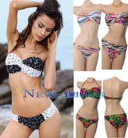 Sexy Bikini Women Swimwear brazilian Brand Designer Free Shipping  Fashion Summer 2013 New Collection Slim Cool Swimsuit  Gift