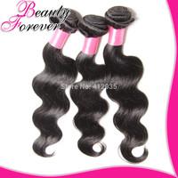 "Grade 6A Raw Unprocessed Brazilian Body Wave Virgin Hair 4Pcs Brazilian Human Hair Weave 8""-30"" Natural Black Hair Can Bleached"