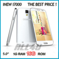 Promotion!Free shipping INEW i7000 5.0 inches HD 1280 x 720 pixels Quad Cores Android 4.2. MTK6589 3G Smart Phone 1G RAM 16G ROM