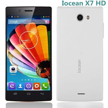5 inch Smartphone Iocean X7 HD MTK6582 1.3GHz LTPS 1GB 8GB 8.0MP Camera WCDMA Dual SIM