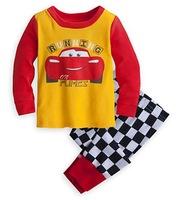 Children's Long Sleeve Lycra Pajamas Boy's Cartoon Nightwear Kid's Autumn Sleepwear Set, 6 Sizes/lot - GPA321