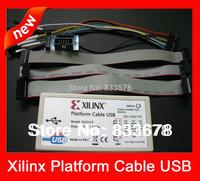Free Shipping Xilinx Platform USB Cable, DLC9G , JTAG programmer , FPGA/CPLD Download Cable ,