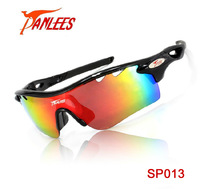 Panlees Fashionable UV400 Protection Polarized Cycling Eyewear Bike Glasses Cycling Glasses Sport Glasses 3 Lens Free Shipping