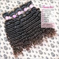 Mocha Hair Products Peruvian/Brazilian Virgin Hair Deep Wave 2Pcs/Lot Unprocessed Human Hair Weave Extension Shipping Free