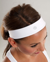 lululemon Slipless Headband  mix order wholesale 6 color: blue,purple,white,green ,blue/white,black