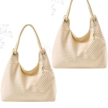Korean Style woven bag vintage Lady handbags 2013 cheap cute tote bags PU leather Shoulder Fantastic 5100
