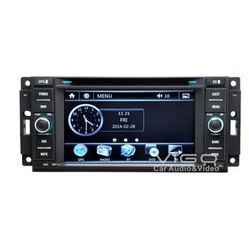 Vehicle Stereo GPS Navigation for Dodge RAM Caravan Charger Caliber Challenger Multimedia Headunit Sat Nav Autoradio Bluetooth