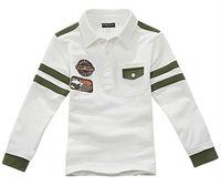 Freeshipping Spring Autumn Children boy baby Kids cute long sleeve cotton polo thsirt  t shirt children clothing  top PDQZ02P15