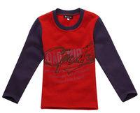 Freeshipping Spring Autumn Children boy Kids baby long sleeve cotton polo thsirt/ t shirt children clothing  top PDQZ01P07