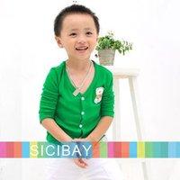 Promotion Hot Kids Sweatshirts Leisure Wear Candy Color 6-Color Joker Knitwear, Free Shipping K0108