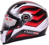 Newest LS2 FF 358A Full Face Urban Racing Motorcycle Helmet DOT ECE Approved Free Shipping