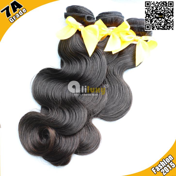 Волнистая прядь волос Luxy