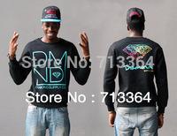 2014 new arrival diamond mens Long sleeve crew neck men hoody sweater  hoodie hiphop Sweater  men sportswear