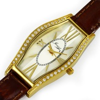 Elegant Design Ladies Watch Fashion Dress Sapphire Glass MOP Dial Crystal Setting Stainless Steel Case Wholesale DC1989