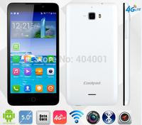 Original Coolpad F1 8297 8297W 01 F1 Plus 4G FDD LTE Andriod 4.4 MTK6592 1.7GHz Octa Core 2GB RAM 8GB ROM 5.0'' 13MP WCDMA 3G W