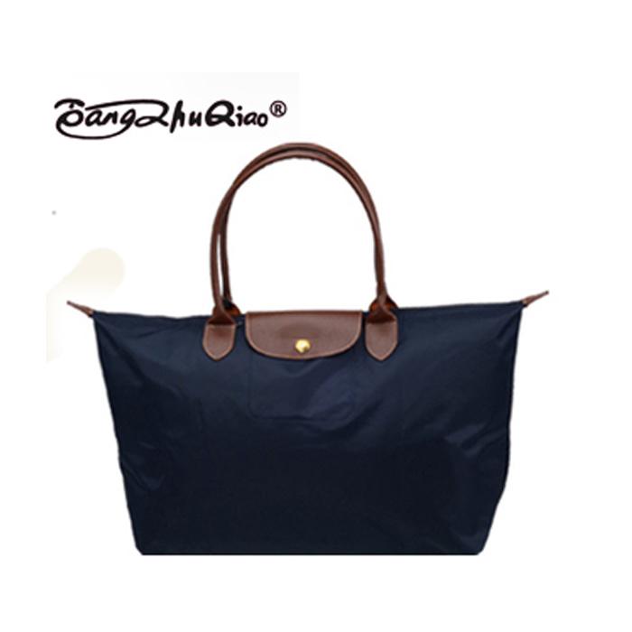 2014 new fashion women messenger bags folding shoulder women's leather Handbags dumplings portable female travel Tote 06 Large(China (Mainland))