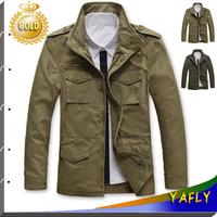 2014 New Style Jackets For Men Coats Autumn and Winter Coat Brand Casual Coat Mens Jacket Fashion Military Jacket Men overcoat