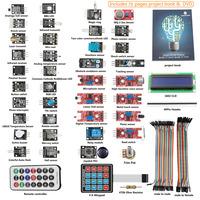 SunFounder 37 modules Sensor Kit For Arduino UNO R3 Mega2560 Mega328 Nano