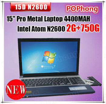 tablet notebook computer 15.6 inch windows 7 intel atom dual core 2g ram 750g hdd 4400mah battery hdmi