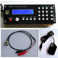 DDS Function Signal Waveform Generator Frequency range:0 - 200KHz (Sine) resolution:1Hz(power adapter and Output cable included)
