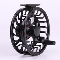 Fast Free shipping! HVC 3/4 weight  Popular Fly fishing reel Chinese SUPER LIGHT  Aluminium CNC Large arbor Fly reel
