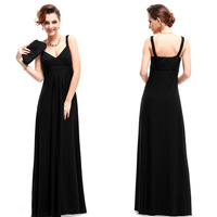 09102 Ever Pretty Sexy Ruched Bust Long Evening Dress 2014 New Arrival Elegant Evening Gown
