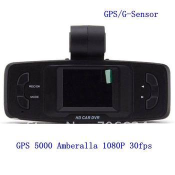 2012 new GS5000 1.5inch Ambarella 30fps Night Vision 4LED 1920*1080P H.264 +GPS and G-Sensor HD Car DVR Recorder ,freeshipping