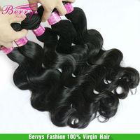 Berrys queens Peruvian virgin Body Wave unprocessed hair weaves 4pcs/lot,natural color, color2#,color4# avalible queens hair