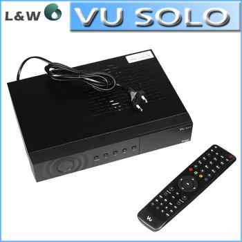 2 pcs/lot Vu Solo VU+Solo PVR Linux Smart Single Tuner Digital dvb-s2 HD Satellite Receiver Newest V3 version Free Shipping