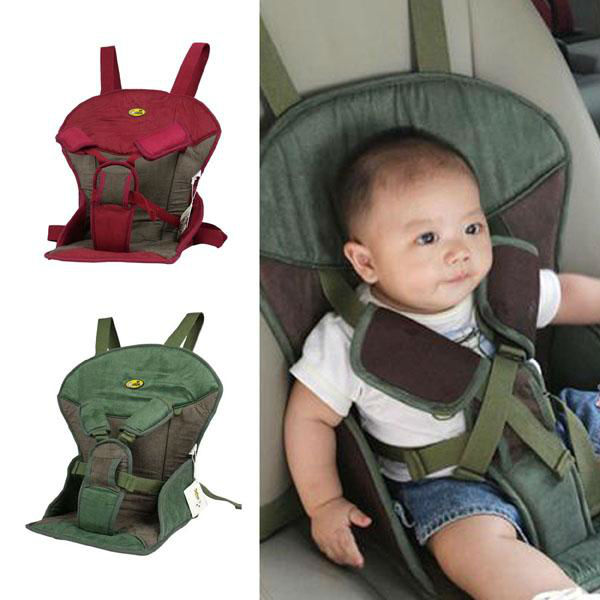 Green Red A169 Soft Suede Baby Car Seats High Quality Child Safety Car Seats Breathable Sponge Kid Car Seat Free Shipping(China (Mainland))