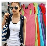 High Quality Hot womens Casual vests Tank top Singlet