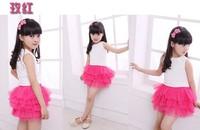 2014 Hot sale tutu baby girl summer skirt, girls mini skirt,baby summer clothing,children wear GQ-098
