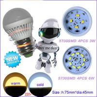 10pcs hot selling  led light High power led e27 3W 5W 6W 7W 9W 10W 12W 15W 16W  SMD   Energy saving office lamp lighting